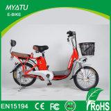 Madame électrique Bike avec deux portées pour la promotion