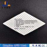Frecuencia ultraelevada Anti-Que rasga la etiqueta auta-adhesivo de la escritura de la etiqueta de RFID para la superficie de cristal