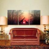 Pittura della tela di canapa della decorazione della camera da letto, migliore pittura di vendita della tela di canapa della decorazione della parete