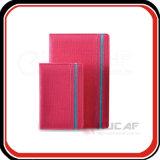 Kundenspezifischer PU-Planer-Luxuxnotizbücher A5/A6