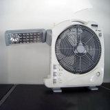 27W 12 nachladbarer Ventilator des Zoll-Tisch-DC/AC