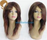 Lungamente diritto parrucca indiana dei capelli umani per la donna