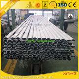 공장 공급은 양극 처리한 알루미늄 타원형 관 타원형 관을 주문을 받아서 만들었다
