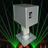 8000MW verdi impermeabilizzano l'illuminazione del laser; Illuminazione mobile del laser della testa