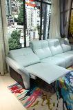 Base de couro elétrica do sofá de Italy do lazer