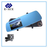 2 автомобиль DVR видеозаписывающего устройства объектива фотоаппарата полный HD автоматический Dashcam