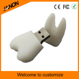 Clé de mémoire USB USB Pendrive de PVC de tissu