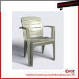 ボタンデザインのプラスチックアーム椅子型