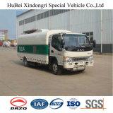 Caminhão da vassoura do vácuo de JAC Euro4 com projeto novo