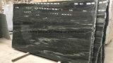 Brames vertes chinoises de granit et de marbre pour la partie supérieure du comptoir et les tuiles