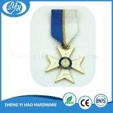 Medalla de oro militar del metal del recuerdo