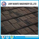 Material de construção 50 anos de telha de telhado revestida do metal da pedra da garantia
