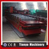 Tuile de toit célèbre de feuille de couleur de Gavanized en métal de fournisseur de la Chine faisant la machine
