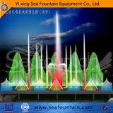 Fuente superior de la música de los multimedia del grado con película de la pantalla de agua