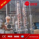 Equipo de destilación del alcohol de la destilería micro del cobre para hacer la vodka y la ginebra