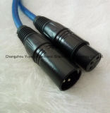 Мужчина 3 Pin к женским кабелю диктора XLR/микрофону/ядровому оборудованию