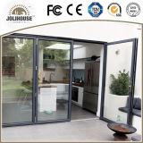 Puerta de aluminio del marco con el vidrio doble