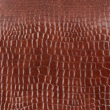 ハンドバッグの靴の荷物のための多彩でさまざまなワニのRexine PU PVC革