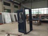 Алюминиевая стеклянная конструкция двери в вилле