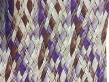 Couro artificial tecido colorido vívido para sacos, decoração do plutônio da grão de madeira, sapatas (HS-Y62)