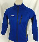 Куртка зимы застежка-молнии оборудования Menards голубая полная Unisex (A643)