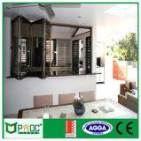 Aluminiumglasbi-Falten-Fenster mit hohem Quanlity (pnoc002)