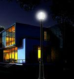 Luz de poste ligero accionada solar eléctrica del jardín de Guangzhou LED