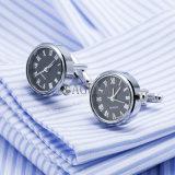 Regalo di cerimonia nuziale reale di collegamenti di polsino della vigilanza del movimento del gemello dell'orologio di vendita calda di VAGULA Gemelos 628