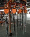 Txk bloc à chaînes de levier de 5 tonnes et élévateur manuel d'élévateur à chaînes
