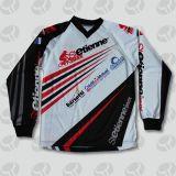 Motorfiets Jerseys van de Kleding van de Motocross van het Ontwerp van de douane de Openlucht