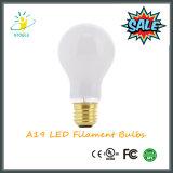 Bombilla Stoele A19 luz LED 6W E26 / E27 estilo Edison A60