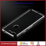 Qualidade Clear TPU Protective Skin Phone Case para Google Pixel
