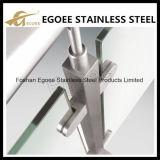 Z-Séries do tipo redondo braçadeira de vidro do aço inoxidável de base lisa para o vidro de 10mm