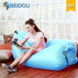 ラウンジのソファーのハンモックの空気豆袋のInflatabeの携帯用膨脹可能な椅子