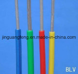 450/750 v-Aluminiumleiter-einkerniger Kurbelgehäuse-Belüftung Isolierhaus-Draht