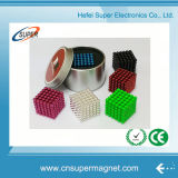 216 шариков магнита магнитных шариков цвета 5mm нео