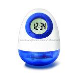 Изготовленный на заказ часы приведенные в действие водой в Egg-Shaped