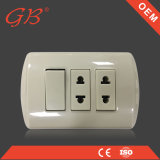 2gang 1way American Wall Socket y 1 Gang Socket Outlet