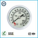 004 40mm медицинские газ или жидкость давления поставщика манометра