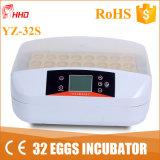 con l'incubatrice automatica automatica 32 PCS Yz-32s dell'uovo della speratrice