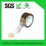 La buena marca de fábrica imprimió la cinta adhesiva del embalaje de OPP