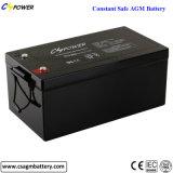Cspower 12V 250ah Batterie der AGM-Leitungskabel-Säure-Batterie-VRLA
