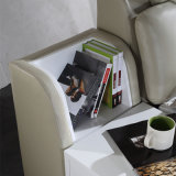 韓国様式の居間の家具- Fb2092のための現代本革のソファーベッド