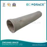Materiaal het op hoge temperatuur die van de Vezel in PPS de Zakken van de Filter voor de Filtratie van het Stof wordt gebruikt