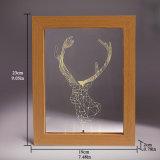света ночи USB украшения картинной рамки 3D СИД деревянные