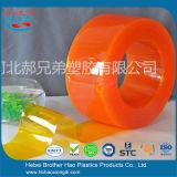먼지 통제 무지개 유연한 투명한 플라스틱 커튼 문 지구 장비