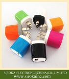 Домашний заряжатель, заряжатель USB перемещения для iPhone, Samsung, Huawei