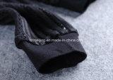 Cappotto nero del `S delle donne del Gridding breve