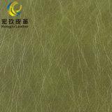 L'usine fournissent le cuir artificiel de PVC de 1.2mm Microfiber pour des meubles Upholestery de sofa
