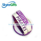 Debossed ha riempito il Wristband del silicone personalizzato colore